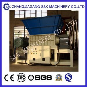Waste Recycling Double Shaft Shredding Machine pictures & photos
