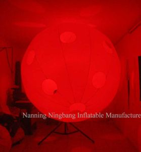 Customized Inflatable Ball Decoration with LED Light for Party pictures & photos