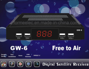 Set Top Box DVB-S Satellite Receiver with Big IR Receiver pictures & photos