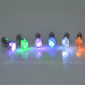 LED Bling Ear Studs Earrings for Dance Party (4901) pictures & photos