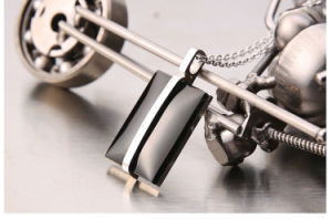 Fashion Men′s Black Stainless Steel Jewelry Necklace Pendant pictures & photos