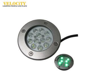 12W/24W High Brightness IP68 RGB LED Underwater Light Multi Color