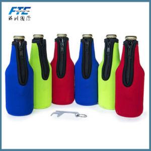 OEM Portable Neoprene Wine Bottle Cooler Wholesale pictures & photos
