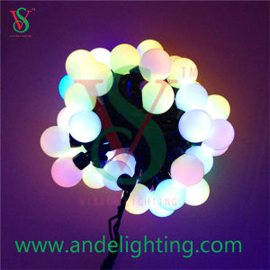 5m Rubber LED String Ball Light for Chirstmas Decoration pictures & photos