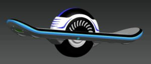 Gk02 Electric Skate Board with LED and Bluetooth