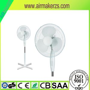 16 Inch Plastic Stand Fan South America with Low Noise pictures & photos