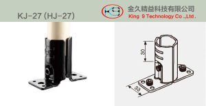 Stamp Metal Joint for Workstation (KJ-27) pictures & photos
