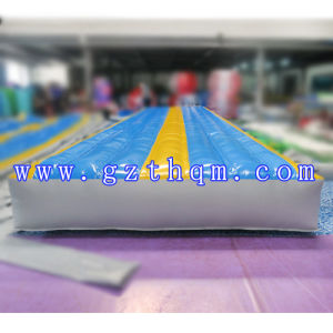 Gymnastics Inflatable Air Tumble Race Track/Inflatable Sport Games Go Kart Track pictures & photos