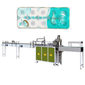 Middle Bag Toilet Roll Packing Machine for Tissue Paper Bundle Baler pictures & photos