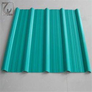 CGCC PPGI Coated Prepainted Corrugated Steel Sheet pictures & photos