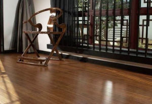 Strand Woven Carbonized Engineered Bamboo Flooring pictures & photos