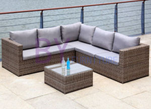 by-442 Outdoor Leisure Hotel Balcony Rattan Furniture Rattan Sofa pictures & photos