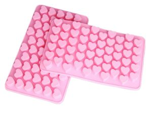 Silicone Mini Heart Shape Ice Cube Mold pictures & photos