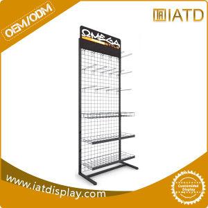 Metal Wire Mesh Hook Grid Display Racks pictures & photos