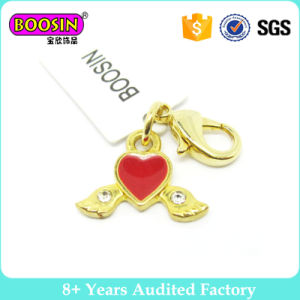 Gold Plated Fashion Jewelry Sweet Heart with Wings pictures & photos