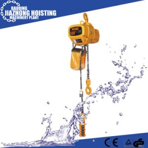 Huaxin 1ton 9meter Electric Construction Hoist for Crane pictures & photos