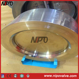 Stainless Steel Wafer Type Single Plate Lift Check Valve pictures & photos