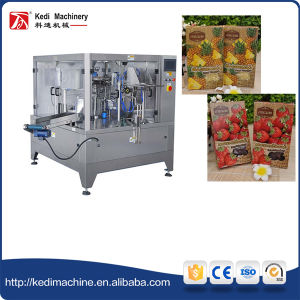 Zipper Pouch Packing Machine for Fruit Crisps pictures & photos