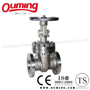ANSI Stainless Steel Flanged Gate Valve with Handwheel pictures & photos