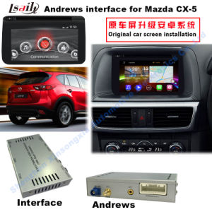New 2014-2016 Mazda Cx-5 Car Video Interface with Android 4.2 WiFi GSM 3G Youtube pictures & photos