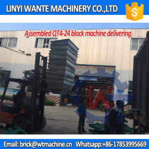 Wante Machinery Qt4-24 Manual Block/Hollow Block Making Machine Price pictures & photos