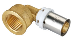 Brass Pipe Fitting with Female Elbow Union Bf-1007