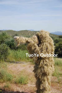 Military Camouflage Ghillie Suit Ghilly Suit Dry Field Grass