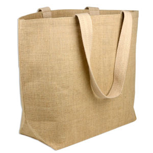 Wholesale Natural Shopping Jute Tote Bag (CJB-2104) pictures & photos