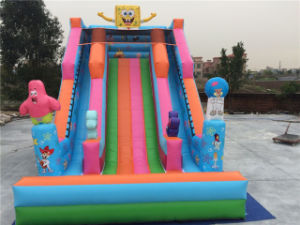 2016 Super Exciting Inflatable Sponge Boy High Slide for Sale pictures & photos