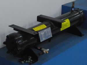 25kw ISO9001 Certification Customized Shell and Tube Condenser