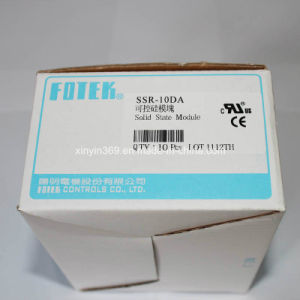 Fotek Single Phase Solid State Relay SSR-10da pictures & photos