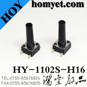 Tact Switch with SMD Type 6*6*5mm 4pin (HY-1102S-H5) pictures & photos