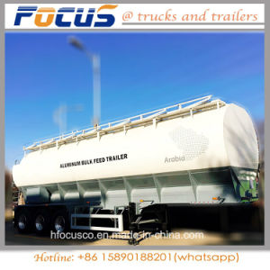 China Top Quality 40cbm Vegetable Oil Fuel Tanker Semi Trailer pictures & photos