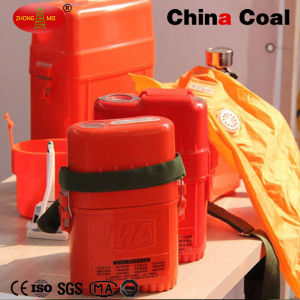 Portable Self-Contained Compressed Oxygen Self Rescuer for Coal Mine pictures & photos