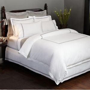 Hotel Collection Finest Bed Linen Embroidered Frame King Duvet Cover pictures & photos