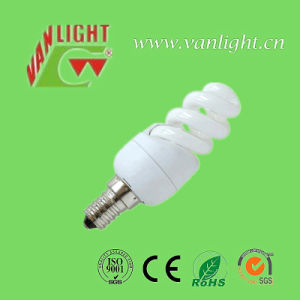Mini Full Spiral 5W T2 CFL Energy Saving Lighting pictures & photos