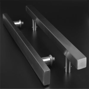 China high quality shower room handle 304 stainless steel for 1800mm high shower door