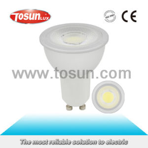 GU10 6W COB LED Light/ LED Spotlight with 80lm/W pictures & photos