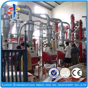 Low Consume Automatic Plant Corn Mill Electric pictures & photos