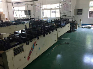 Used 8 Lines Bottom Sealing Cold Cutting Bag Making Machine pictures & photos