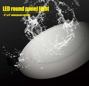 "4"" 6"" Waterproof Round Ceiling Panel Recessed Mounted Light with 3 Warranty Years pictures & photos"