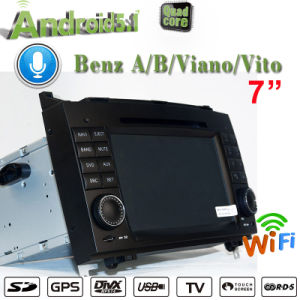 Anti-Glare Carplay Android 7.1 Carplay for Mercedes Benz Viano Und Vito / Sprinter Car Stereo GPS Navigation 2+16g pictures & photos