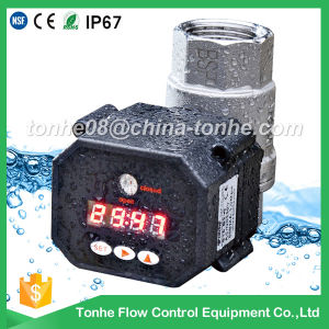 All Size Electric Automatic Water Control Valve with Timer pictures & photos