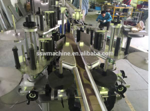Quality Assured Fully Automatic BOPP Hot Melt Glue Labeling Machine pictures & photos