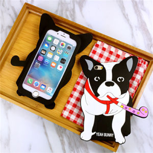 3D Dogs Silicone Case for Samsung J1mni J2 J3 J5 J7 Mobile Phone Accessories (XSDW-061) pictures & photos