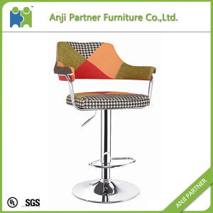 Over 30 Years′production Experience Patchwork Fabric Bar Stool (Maysak) pictures & photos