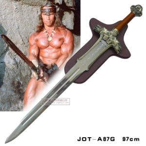 Conan The Barbarian Swords Movie Swords with Plaque 97cm pictures & photos