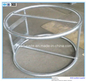 Heavy Strong Steel Pipe Circle Pump Rack Metal Pallet