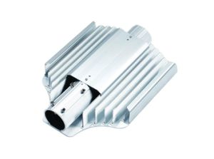 6063 T5 Extruded Aluminum Street Lights Heat Sinks pictures & photos