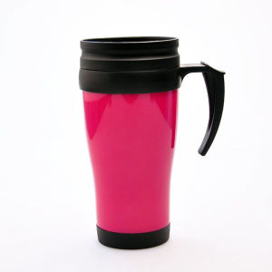 Wholesale 400ML Custom BPA Free Travel Coffee Mug With Handle pictures & photos